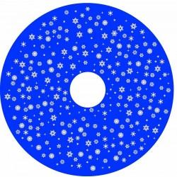 Neve Stilizzata Blu